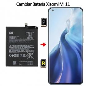 Cambiar Batería Xiaomi Mi 11 5G