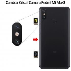 Cambiar Cristal Cámara Trasera Xiaomi Mi Max 3