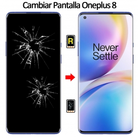 Cambiar Cristal De Pantalla Oneplus 8