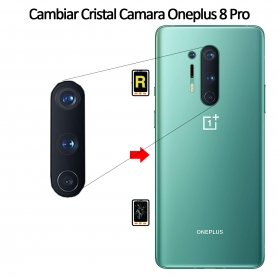 Cambiar Cristal Cámara Trasera Oneplus 8 Pro