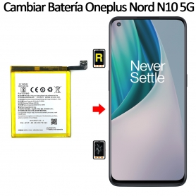 Cambiar Batería Oneplus Nord N10 5G