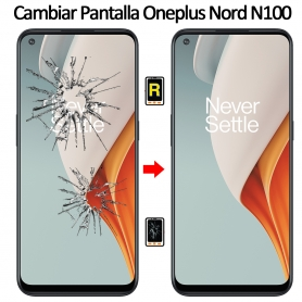 Cambiar Cristal De Pantalla Oneplus Nord N100