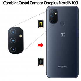 Cambiar Cristal Cámara Trasera Oneplus Nord N100