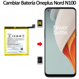 Cambiar Batería Oneplus Nord N100