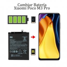Cambiar Batería Xiaomi Poco M3 Pro