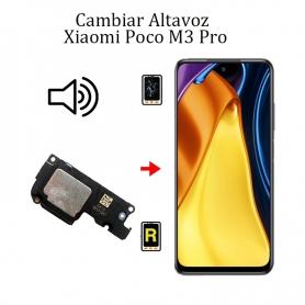 Cambiar Altavoz De Música Xiaomi Poco M3 Pro