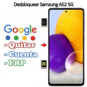 Eliminar Contraseña y Cuenta Google Samsung Galaxy A52 5G