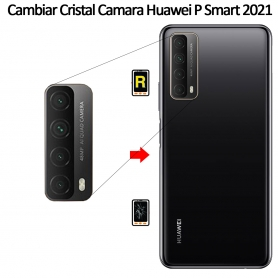 Cambiar Cristal Cámara Trasera Huawei P Smart 2021