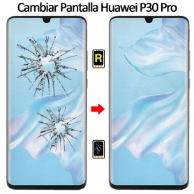 Cambiar Cristal De Pantalla Huawei P30 Pro
