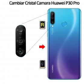 Cambiar Cristal Cámara Trasera Huawei P30 Pro