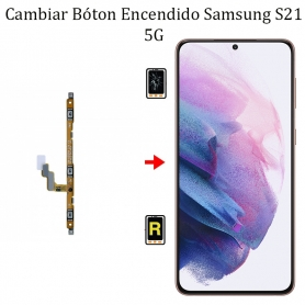 Cambiar Botón De Encendido Samsung Galaxy S21 5G