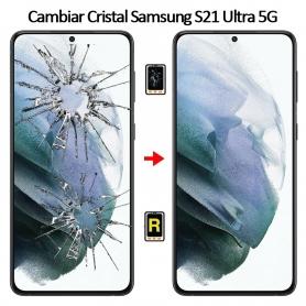Cambiar Cristal De Pantalla Samsung Galaxy S21 Ultra 5G