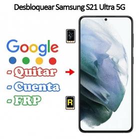 Eliminar Contraseña y Cuenta FRP Samsung Galaxy S21 Ultra 5G