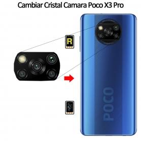 Cambiar Cristal Cámara Trasera Xiaomi Poco X3 Pro