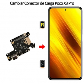 Cambiar Conector De Carga Xiaomi Poco X3 Pro