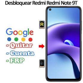 Eliminar Contraseña y Cuenta FRP Xiaomi Xiaomi Redmi Note 9T