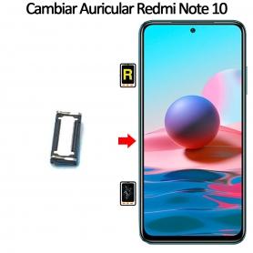 Cambiar Auricular De Llamada Xiaomi Xiaomi Redmi Note 10