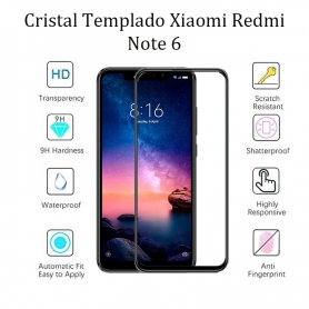 Cristal Templado Xiaomi Xiaomi Redmi Note 6 Pro