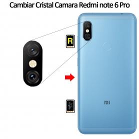 Cambiar Cristal Cámara Trasera Xiaomi Xiaomi Redmi Note 6 Pro
