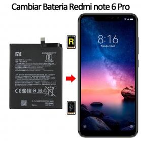 Cambiar Batería Xiaomi Xiaomi Redmi Note 6 Pro