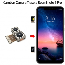Cambiar Cámara Trasera Xiaomi Xiaomi Redmi Note 6 Pro