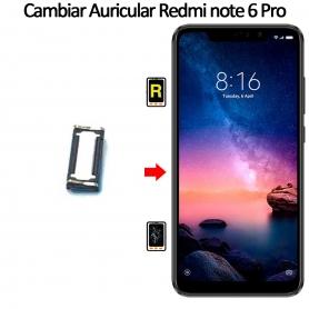 Cambiar Auricular De Llamada Xiaomi Xiaomi Redmi Note 6 Pro