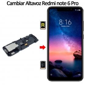 Cambiar Altavoz De Música Xiaomi Xiaomi Redmi Note 6 Pro