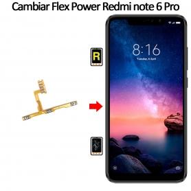 Cambiar Botón De Encendido Xiaomi Xiaomi Redmi Note 6 Pro