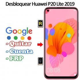Eliminar Contraseña y Cuenta Google Huawei P20 Lite 2019