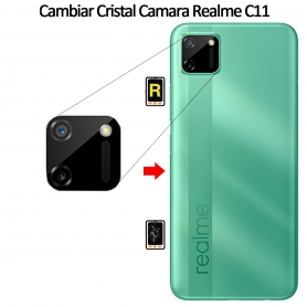 Cambiar Cristal Cámara Trasera Realme C11