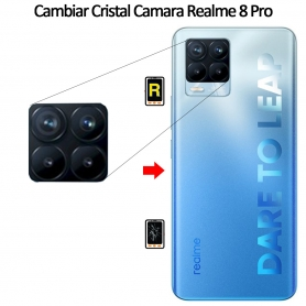 Cambiar Cristal Cámara Trasera Realme 8 Pro