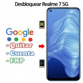 Eliminar Contraseña y Cuenta Google Realme 7 5G