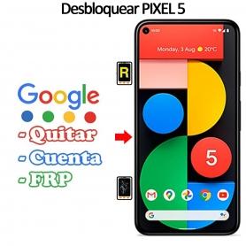 Eliminar Contraseña y Cuenta Google Google Pixel 5