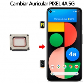 Cambiar Auricular De Llamada Google Pixel 4A 5G