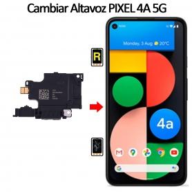 Cambiar Altavoz De Música Google Pixel 4A 5G