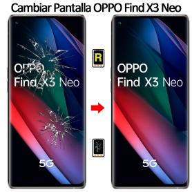 Cambiar Cristal De Pantalla Oppo Find X3 Neo