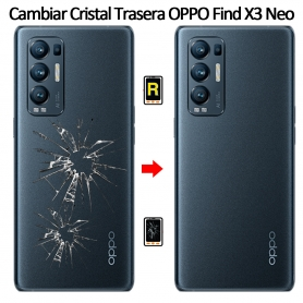 Cambiar Tapa Trasera Oppo Find X3 Neo