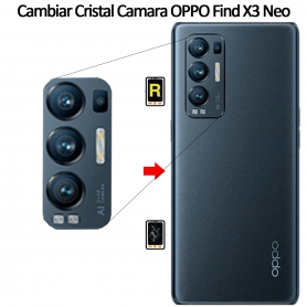 Cambiar Cristal Cámara Trasera Oppo Find X3 Neo