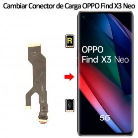 Cambiar Conector De Carga Oppo Find X3 Neo
