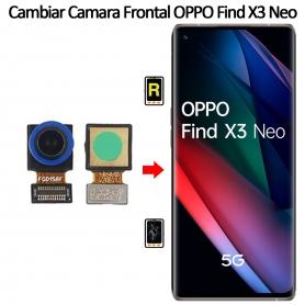 Cambiar Cámara Frontal Oppo Find X3 Neo