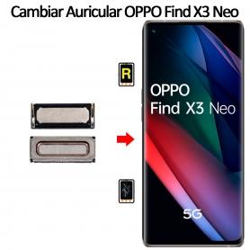 Cambiar Auricular De Llamada Oppo Find X3 Neo