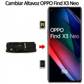 Cambiar Altavoz De Música Oppo Find X3 Neo