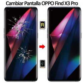 Cambiar Cristal De Pantalla Oppo Find X3 Pro