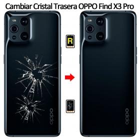 Cambiar Tapa Trasera Oppo Find X3 Pro