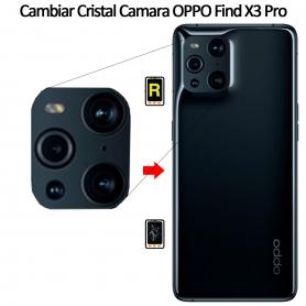 Cambiar Cristal Cámara Trasera Oppo Find X3 Pro