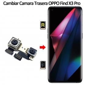 Cambiar Cámara Trasera Oppo Find X3 Pro