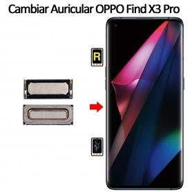 Cambiar Auricular De Llamada Oppo Find X3 Pro