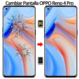 Cambiar Cristal De Pantalla Oppo Reno 4 Pro 5G