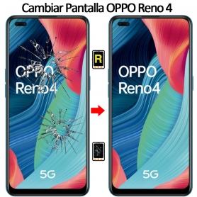 Cambiar Cristal De Pantalla Oppo Reno 4 5G
