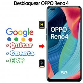 Eliminar Contraseña y Cuenta Google Oppo Reno 4 5G